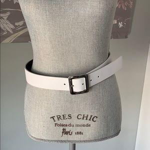 Michael Kors white belt
